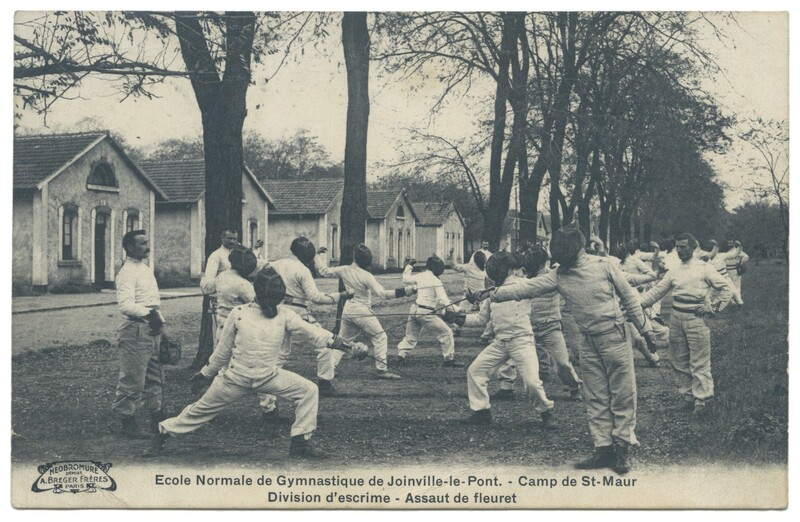 Epee Assaults at Joinville