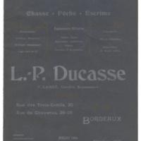 L. P. Ducasse Catalog
