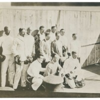 1912 Olympic Fencing Team Group Photo