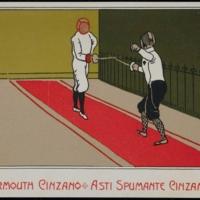 Vino Vermouth Cinzano Postcard