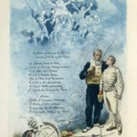 Frontispiece to l'Almanac d'Escrime