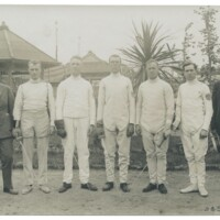 1920 Olympics American Fencing Team Photo