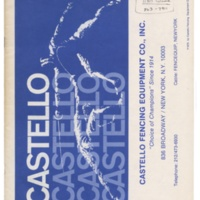 1975 Castello Catalog with Inserts