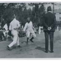 1920 Olympics Fencing - Italy vs USA