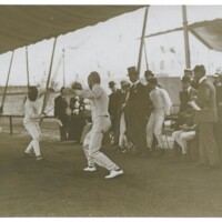 Photo from the 1908 Olympic Games