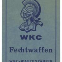 WKC Fechtwaffen Catalog